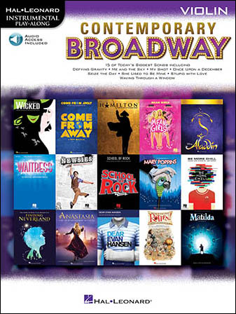 Contemporary Broadway Play-Along