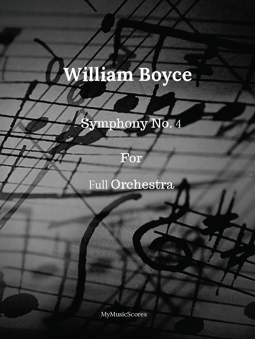 Boyce Symphony No. 4