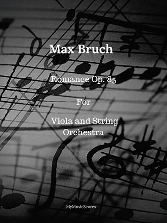 Bruch Romance for Viola and String Orchestra
