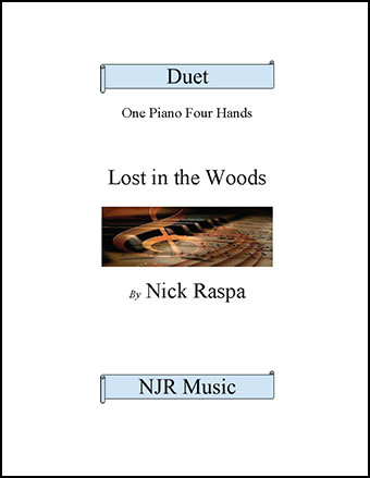 Lost in the Woods (elementary 1 piano 4 hands) Thumbnail