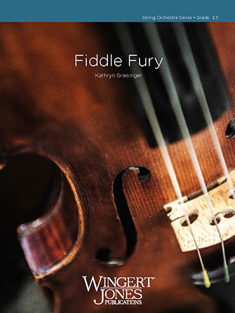 Fiddle Fury orchestra sheet music cover
