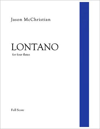 Lontano - for four flutes