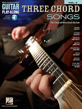 Guitar Play-Along, Vol. 5: Three Chord Songs