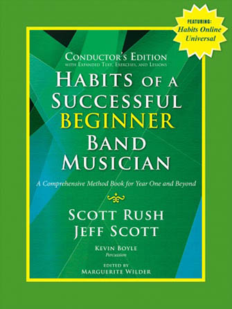 Habits of a Successful Beginner Band Musician band sheet music cover