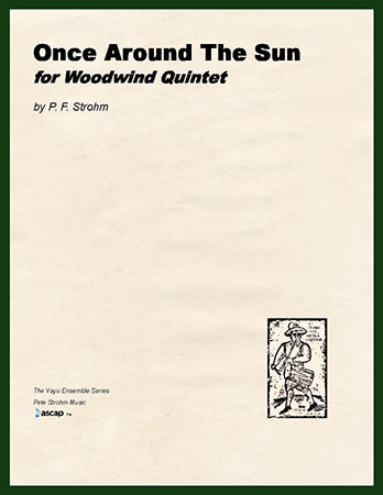 Once Around The Sun for Woodwind Quintet