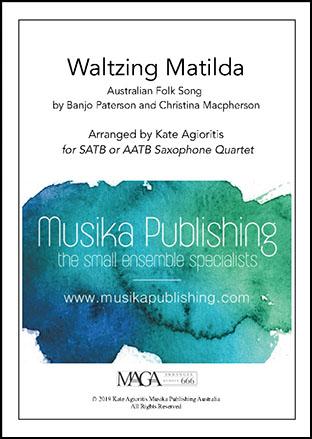 Waltzing Matilda - Saxophone Quartet