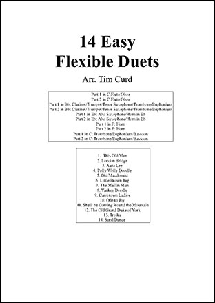 14 Easy Flexible Duets