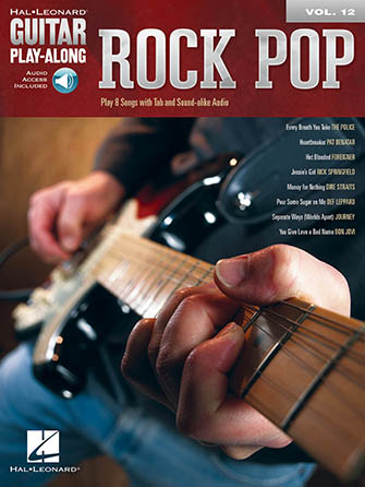 Guitar Play-Along, Vol. 12: Rock Pop