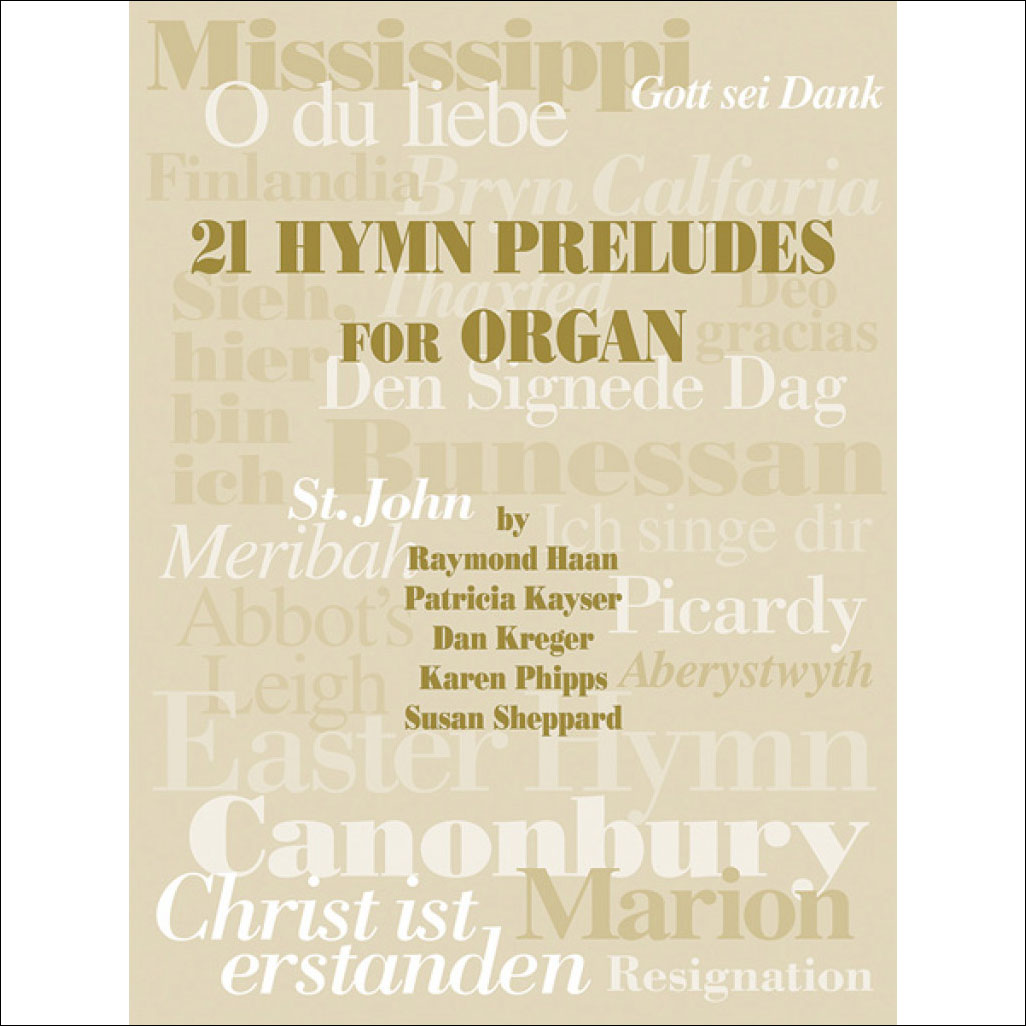 21 Hymn Preludes for Organ