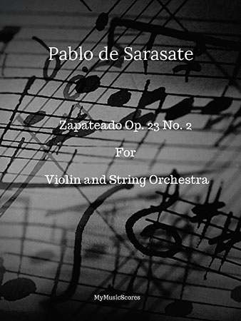 Op. 23, No. 2 for Violin and String Orchestra