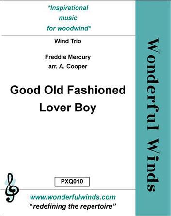 Good Old Fashioned Lover Boy