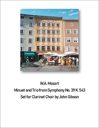Mozart - Minuet from Symphony #39