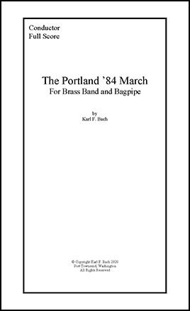 The Portland '84 March