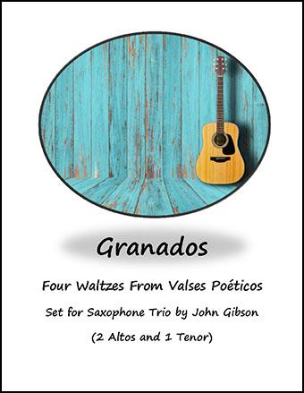 4 Waltzes set for Saxophone Trio