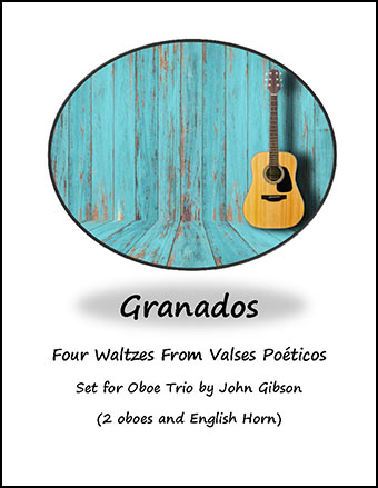 4 Waltzes set for Oboe Trio