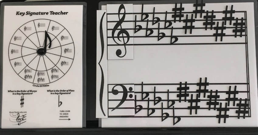 Key Signature Combo Set (Magnetic)