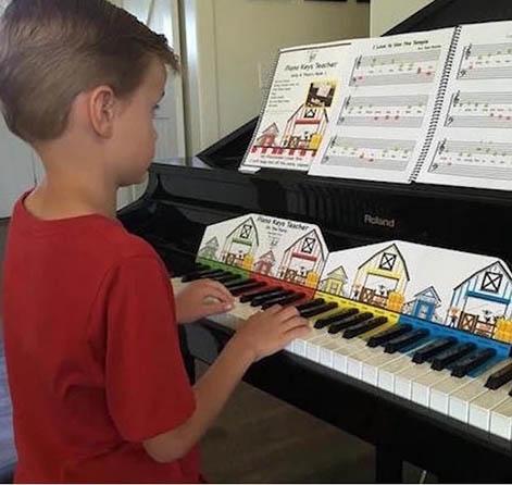 Piano Keys Teacher Combo Set