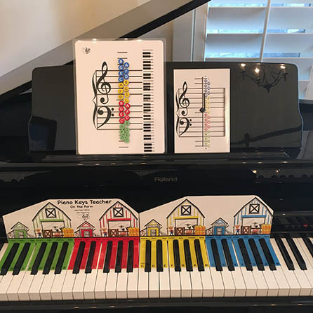 Piano Keys Teacher-I Can Learn Music Notes