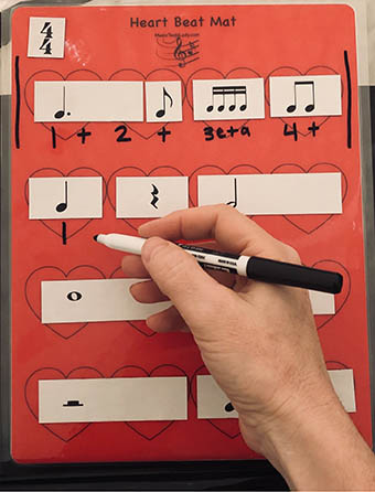 Learning Rhythms Magnetic Set