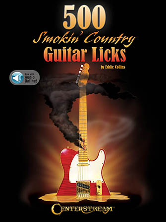 500 Smokin' Country Guitar Licks