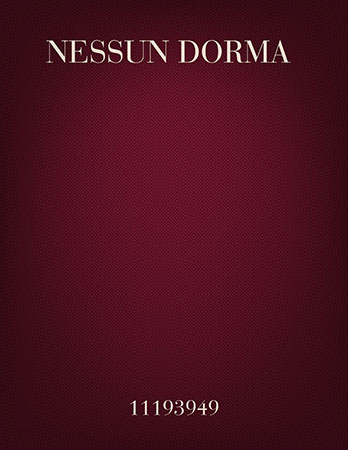 Nessun Dorma (Let No One Sleep) for trumpet trio and oboe/soprano