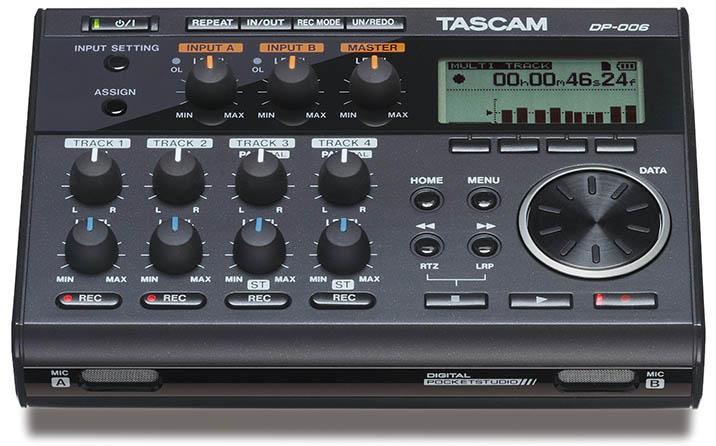 DP-006 6-Track Digital Pocketstudio
