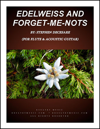 Edelweiss and Forget-Me-Nots