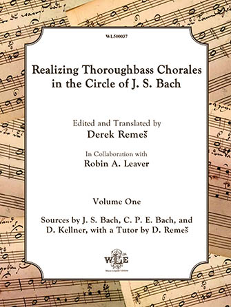 Realizing Thoroughbass Chorales in the Circle of J.S. Bach