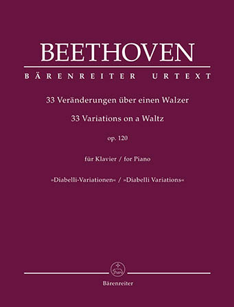 33 Variations on a Waltz for Piano, Op. 120