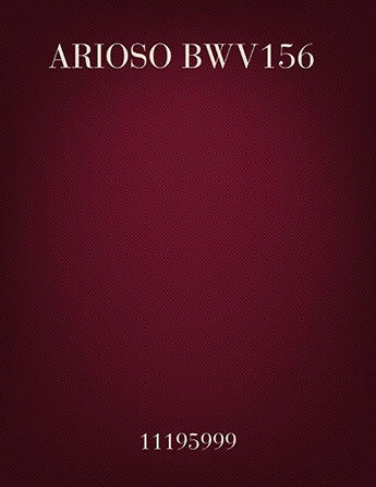 Arioso BWV156