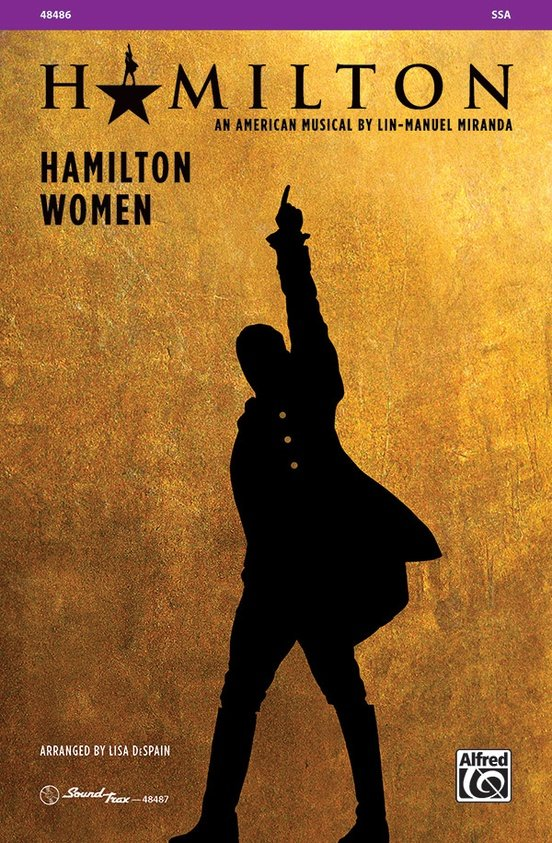 Hamilton Women choral sheet music