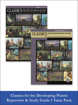 Classics for the Developing Pianist Repertoire & Study Guide Value Pack