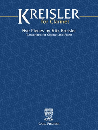 Kreisler for Clarinet Cover