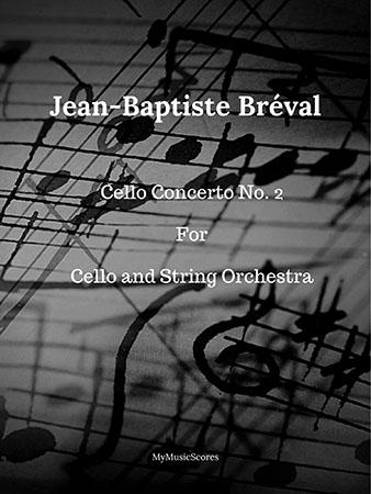 Cello concerto No. 2 for Cello and String Orchestra