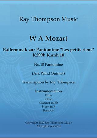 Balletmuzik zur Pantomine Les petits riens K299b K.anh 10 10.Pantomine
