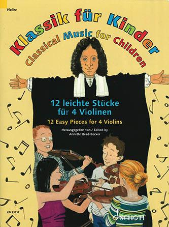 12 Easy Pieces for 4 Violins