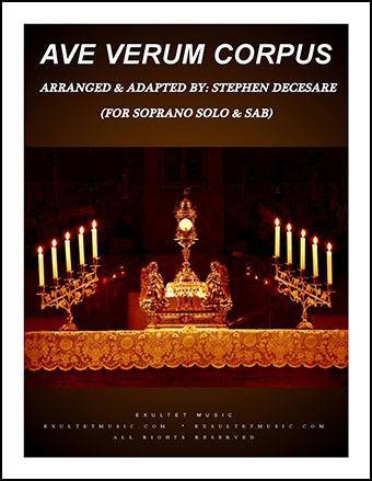 Ave Verum Corpus  P.O.D.