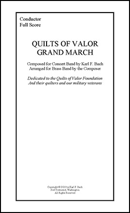 Quilts of Valor Grand March P.O.D.