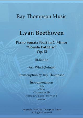 Piano Sonata No.8 in C minor Op.13 Movement.III Rondo
