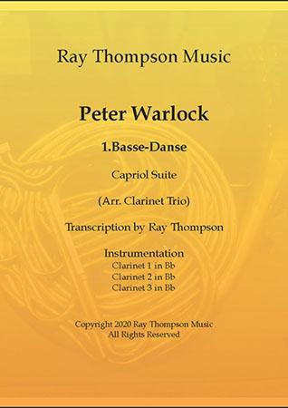 1.Basse-Danse - clarinet trio