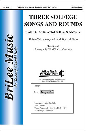 Three Solfege Songs and Rounds
