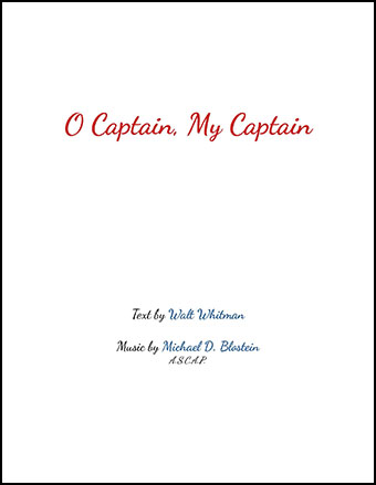 O Captain My Captain