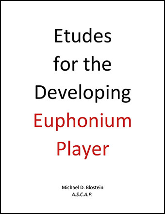 Etudes for the Developing Euphonium Player