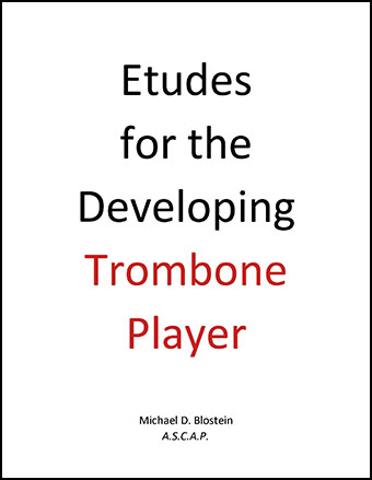 Etudes for the Developing Trombone Player