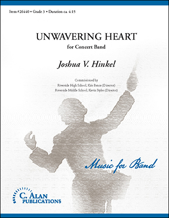 Unwavering Heart band sheet music cover