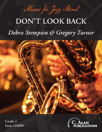 Don't Look Back jazz sheet music cover