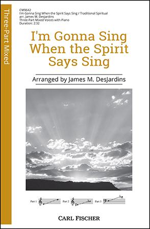 I'm Gonna Sing When the Spirit Says Sing Thumbnail