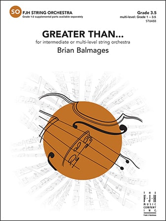 Greater Than... Cover