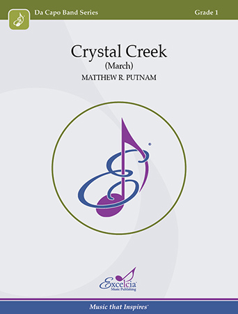 Crystal Creek band sheet music cover