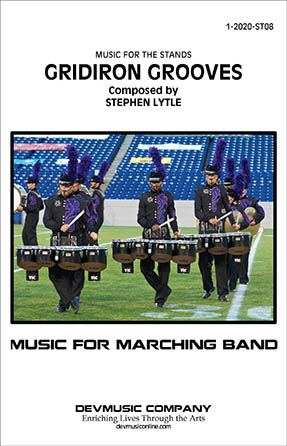 Gridiron Grooves marching band sheet music cover